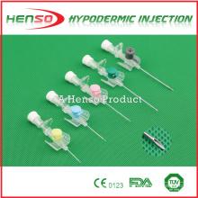 Canule Henso iv avec orifice d'injection