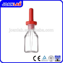 JOAN Lab Glassware Dropping Bottle With Latex Rubber Nipple