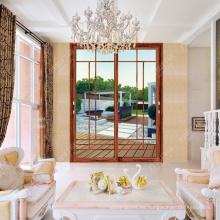 veranda de aluminio puerta corredera diseño de la parrilla