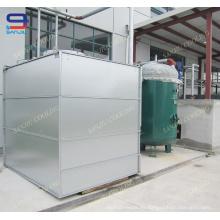 Torre de enfriamiento cerrada, sistema de enfriamiento de agua Superdyma de la torre de enfriamiento HVAC