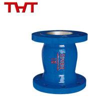 Clapet anti-retour rond en fonte hydraulique économe en fonte d'aluminium