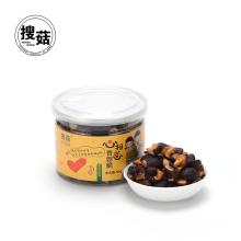 Vente chaude collation saine de chips de shiitake