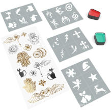 Create Your Own Face Painting Stencils Halloween