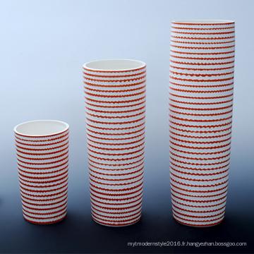 Design en forme de cylindre Bureau de bureau en céramique haute pour hôtel décoratif (B133)