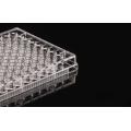 Placas de cultura celular de fundo plano de 96 poços tratadas com TC