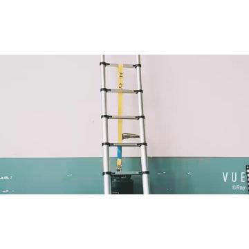 Uso múltiple plegable de aluminio de la escalera de paso telescópica de la subida del 12.5FT