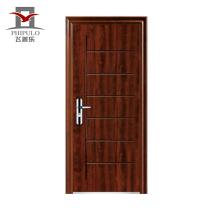 puerta de entrada estampada metal piel piel puerta