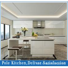 2017 MDF weiße PVC Küchenschränke
