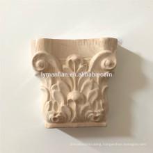 Floral Roman Corinthian capitals Small Capital post cheap wood corbels