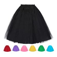 GK Women's 3 Layers Crinoline Petticoat Underskirt for Retro Vintage Dress BP000057