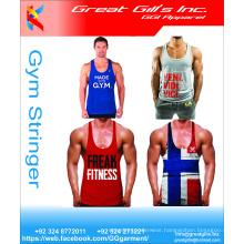 Men Stringer Gym Tank Top