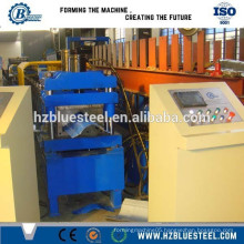 used metal roof ridge cap roll forming machine