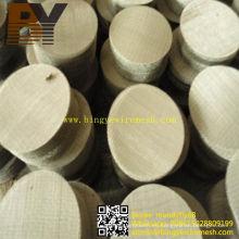 Disco de filtro de malla de alambre