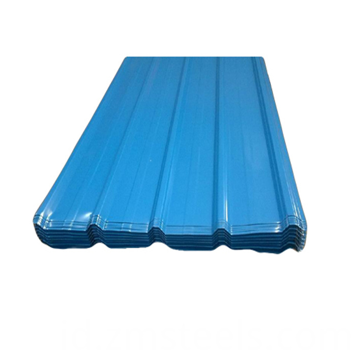 Trapezoidal Steel Roofing Sheet