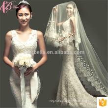 Sirena corte trompeta de encaje sin espalda para el vestido de novia de la venta