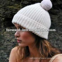 sombrero de cachemira de mujer de moda