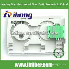 FTTH fiber optical terminal box SC Duplex adapter