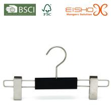 Atacado de borracha revestimento Small Pant Hanger (EPB020)