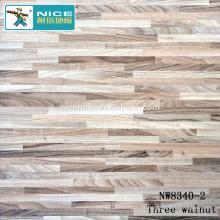 NWseries Três nogueira piso de madeira Parquet HDF núcleo Parquet Flooring