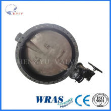 Cheapest price pvc wafer type butterfly valve