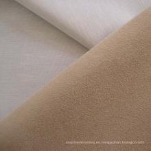 Tela de tapicería de sofá de Compund poliester gamuza