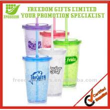 Publicidad Logo Custom Reutilizable Plastic Cup Wholesale