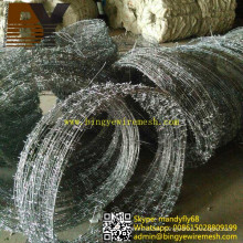 Razor Iron Wire Concertina Wire Babred Wire