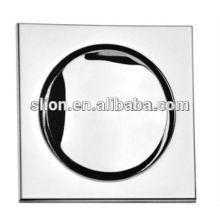 Espejo de acero inoxidable de alta calidad pulido de drenaje de piso de aguas profundas