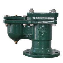 Válvula de ar com orifício flangeado