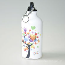 Botella deportiva para la sublimación de la botella de agua de aluminio 600ML / 700Ml