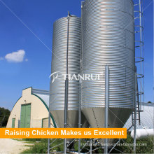 Farming port Designed Durable Poultry Steel Feed Silo System for Sale