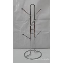 6- Hook Hanging Mug Holder