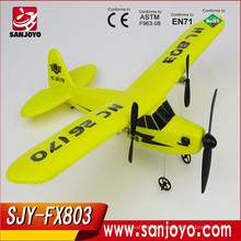 Popular Rc Aircraft ! 2.4G Electric Epp (Foam Material) New Rc Glider / Easy Fly & Light Weight Airplane Toys Product SJY-FX-803