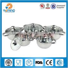 10 piezas de utensilios de cocina de acero inoxidable quirúrgico OEM