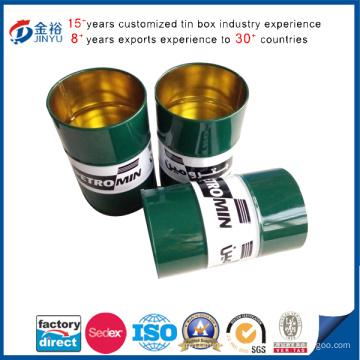 Boîte de bidon de support de stylo en métal pour le paquet de stylo