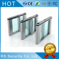 RFID Card Reader Speedgates Glass Turnstiles