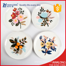 high quality ceramic home decor plate / best choice porcelain wall plates / decorative hanging plate