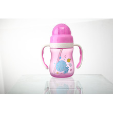 Infant Water Drinking Bottle Baby Straw Cup M