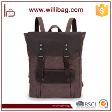 Factory Wholesale Korean Style Canvas College Bags Backpacks