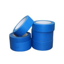 Fita adesiva para pintores de papel de liberação limpa azul resistente a raios ultravioleta de 60 jardas de comprimento