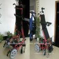 Cadeira de rodas em pé