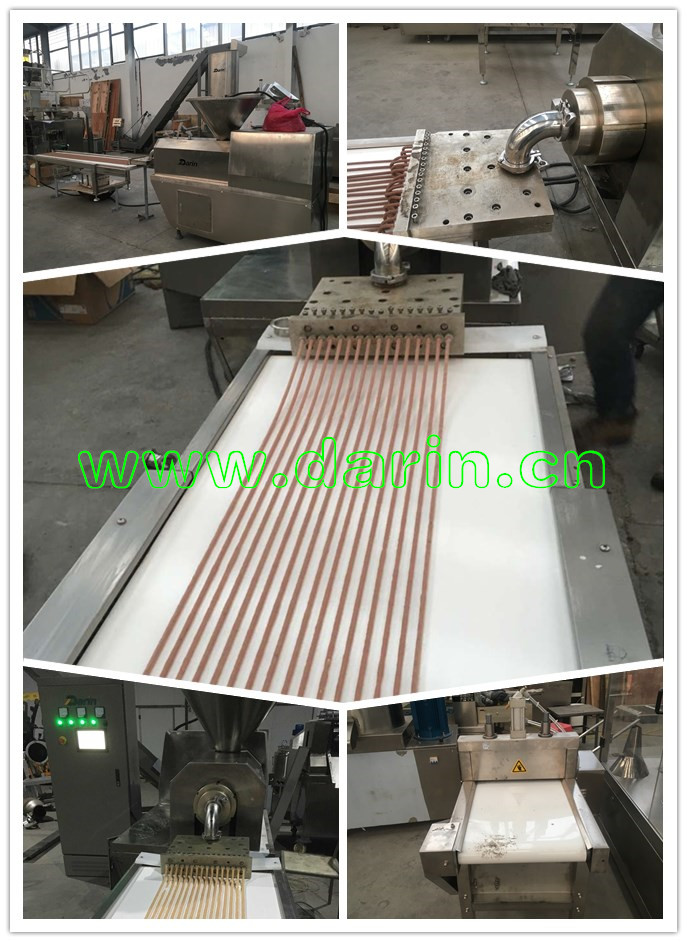 Auto Meat Strip Munchy Stick vormmachine