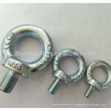 Oeil de boule forgé par série faite sur commande de Q / QP / QH / matériel de ligne de poteau / raccord d'alimentation électrique