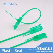 Selo de plástico ajustável com travamento duplo