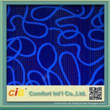 tela de la cubierta del asiento de diseño abstracto tela auto/autobús de serigrafía tela coche
