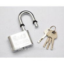 Chrome Plated Water Proof Round Corner Disc Cylinder Padlock