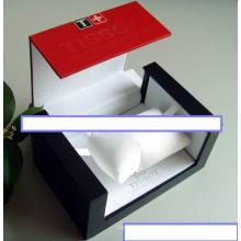 Caixa de relógio de viagem plástica personalizada pessoal com travesseiro livre