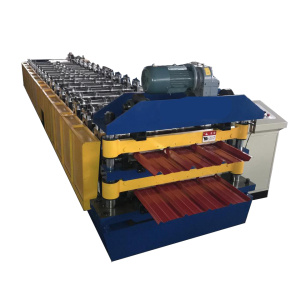 new double layer trapezoidal roll forming machine