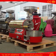 Torrador de café 1kg do luxo da máquina da repreensão do café da qualidade superior mini
