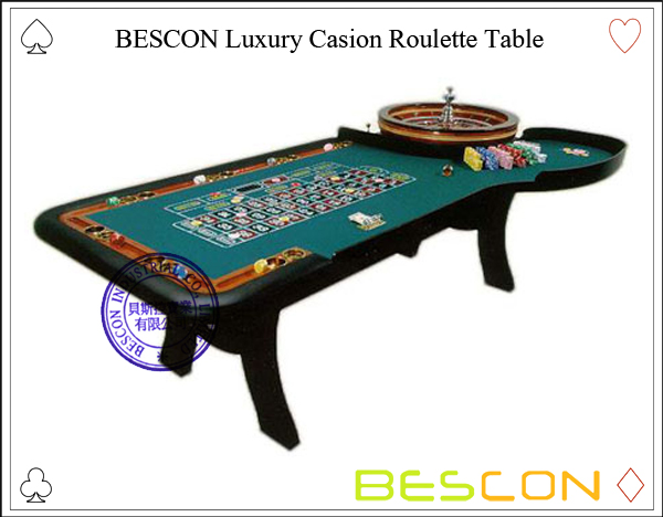 BESCON Luxury Casion Roulette Table-3